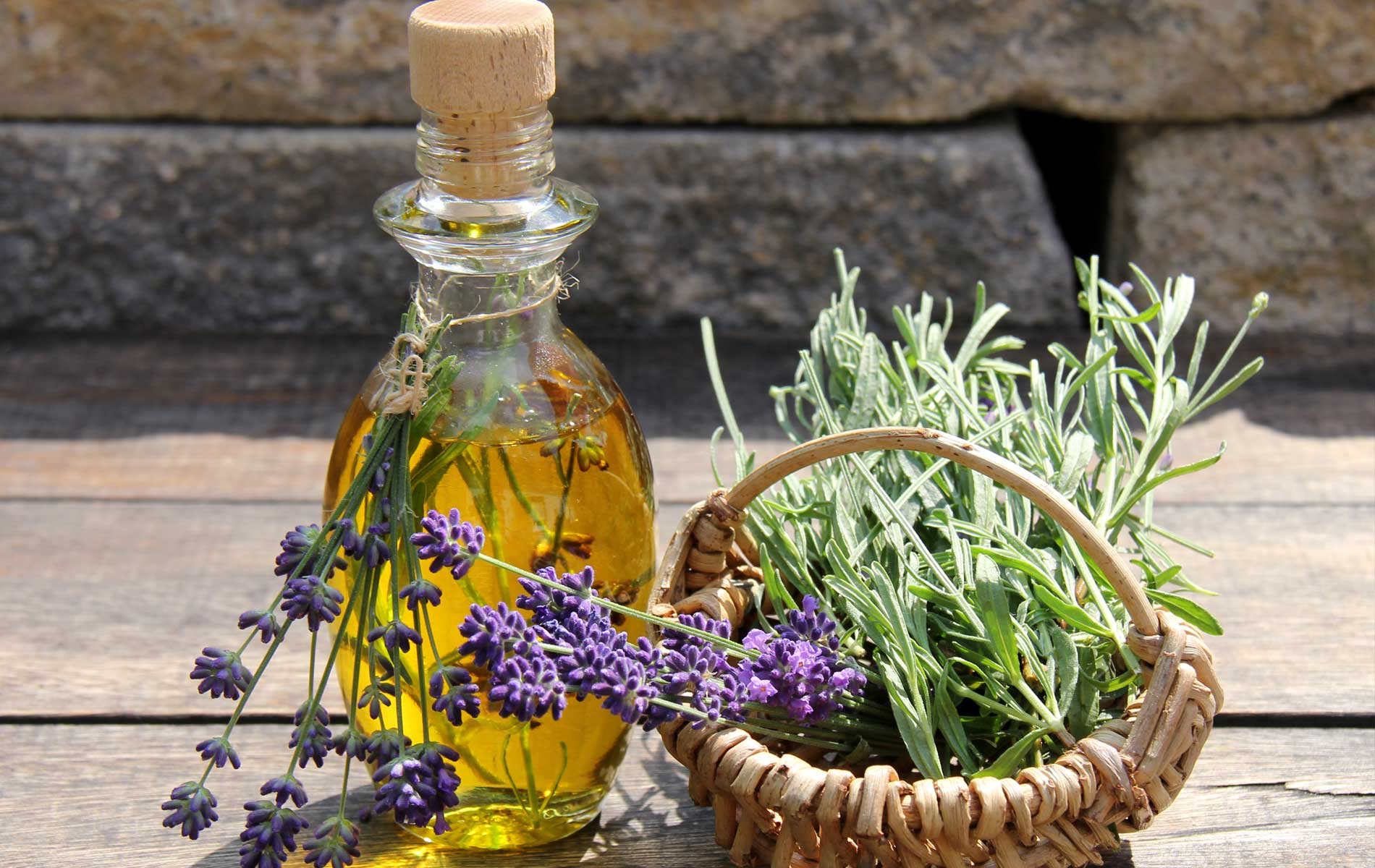 Lavender and algae based anti-stress ritual